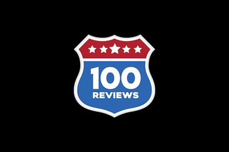 100 Reviewslogo